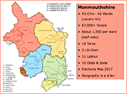 Monmouthshire County and Constiuency structure